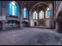 urbex, urban, exploration, opuszczone, abandoned, urbex.net.pl, kościół, church, niemcy, germany, blue, 1