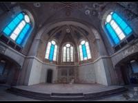 urbex, urban, exploration, opuszczone, abandoned, urbex.net.pl, kościół, church, niemcy, germany, blue, 3