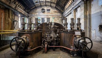 abandoned power station Poland