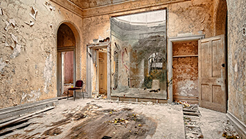 abandoned college United Kingdom