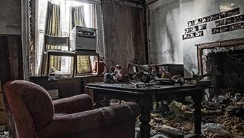 abandoned house United Kingdom