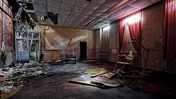 abandoned hospital United Kingdom