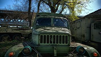 abandoned port Slovakia