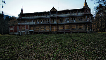 abandoned hotel Slovakia