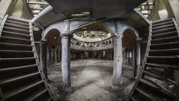 abandoned evangelical church Poland