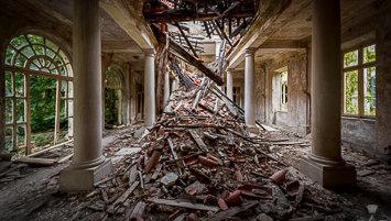 abandoned hotels Kupari