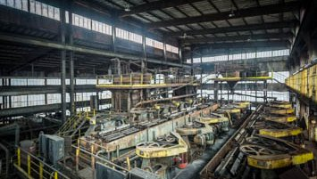 coal mine abandoned
