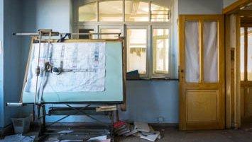 Abandoned office Belgium