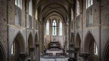 abandoned church Belgium