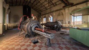 abandoned coal mine Germany