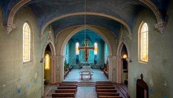 abandoned chapel Italy