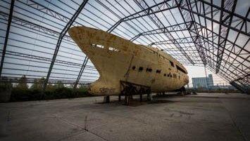 abandoned ship Italy