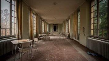 abandoned hospital italy