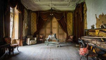 Abandoned villa Portugal