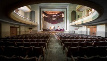 abandoned theater italy
