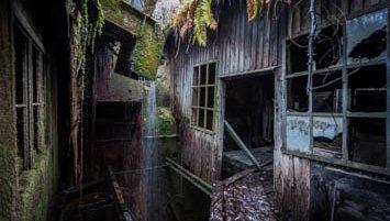 abandoned factory Austria