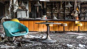 abandoned hotel Japan