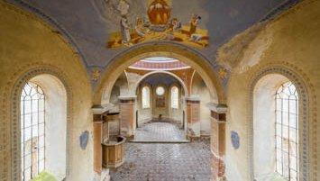 abandoned orthodox church Poland