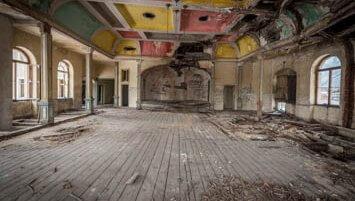 abandoned ballroom Germany
