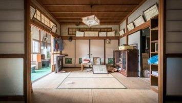 abandoned houses Fukushima