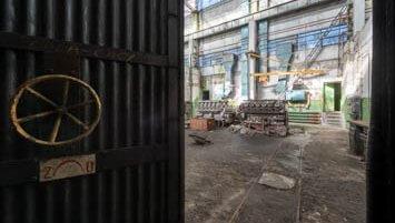 abandoned mechanical works Poland