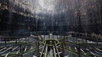 abandoned cooling towers Slovakia