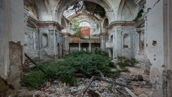 abandoned church Italy