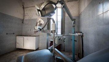 abandoned convento italy