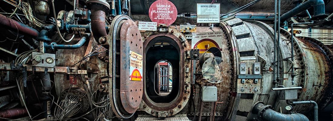 abandoned NGTE Pyestock United Kingdom