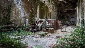 abanded power plant Italy