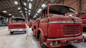 firetrucks graveyard