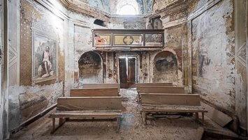 abandoned villa Grazie Italy