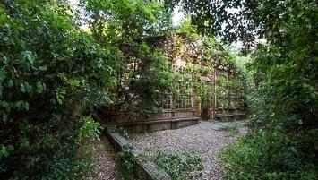 abandoned greenhouse Italy