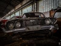 austria, car, graveyard, cmentarzysko, abandoned, opszczone, urbex-2