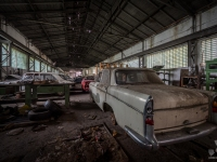 austria, car, graveyard, cmentarzysko, abandoned, opszczone, urbex-3