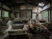 austria, car, graveyard, cmentarzysko, abandoned, opszczone, urbex-9