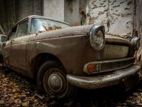austria, car, graveyard, cmentarzysko, abandoned, opszczone, urbex