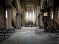 blue, christ, church, belgium, urbex, abandoned-2