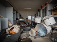 fukushima, exclusion, zone, school, primary, urbex-12