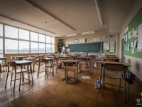 fukushima, exclusion, zone, school, primary, urbex-7