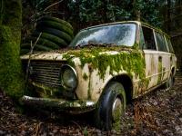 lada, belgium, car, abandoned, urbex